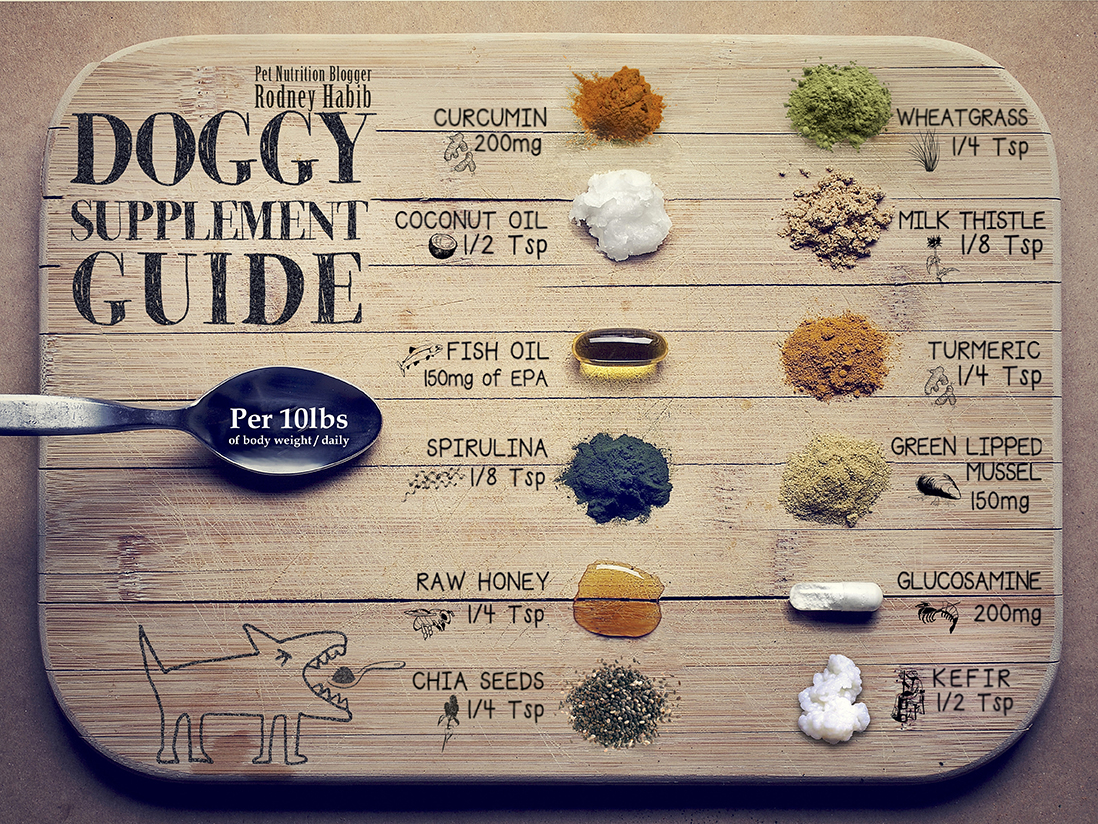 Doggy Supplement Chart Planet Paws